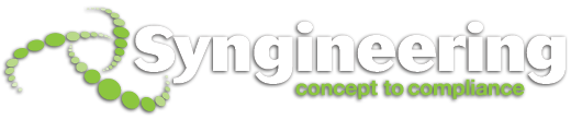 image of syngineering concept to compliance logo