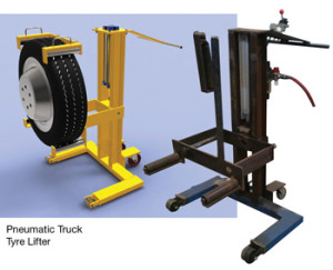 Syngineering Pneumatic Tyre Lifter