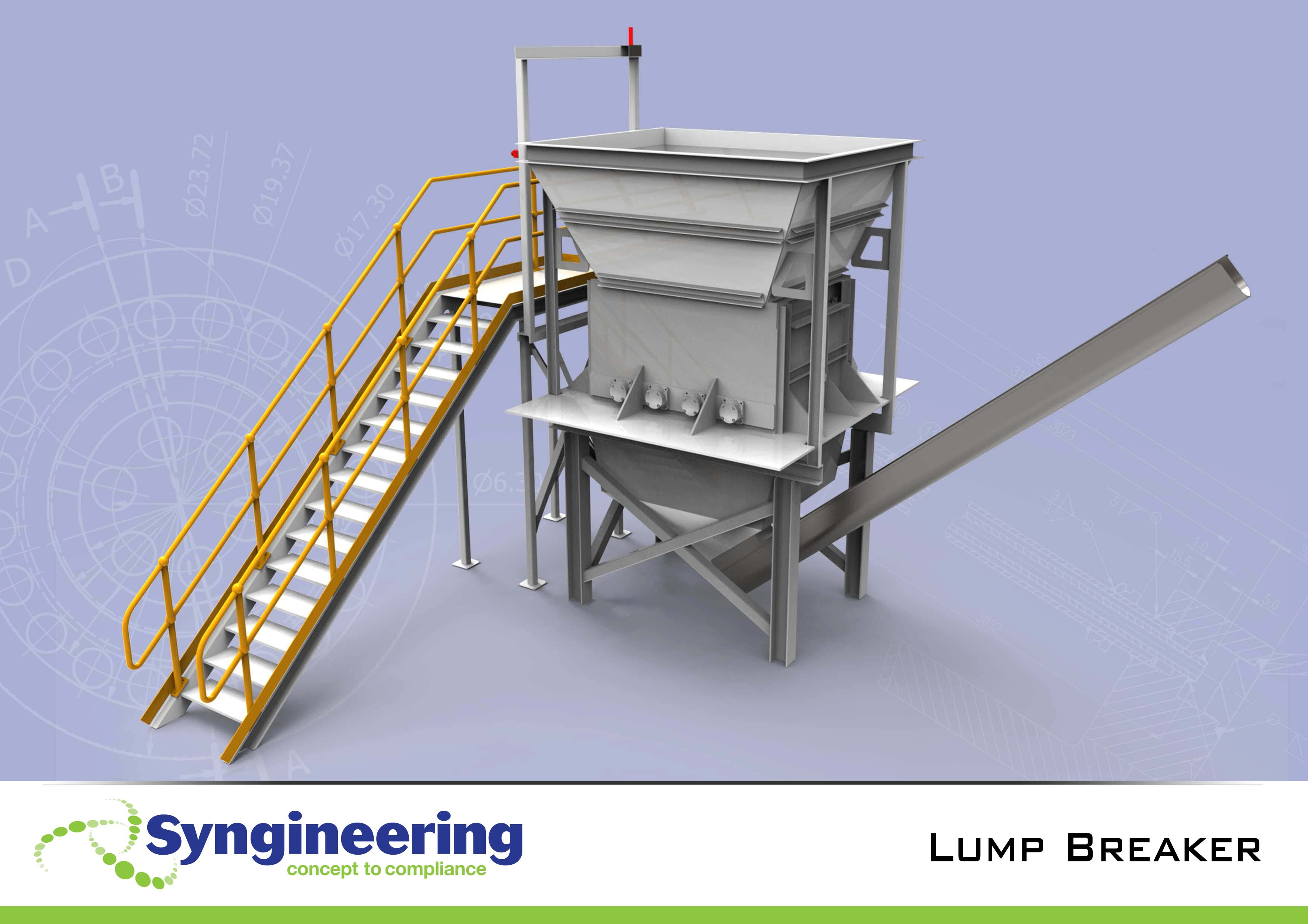 Mechanical engineering projects - Lump Breaker