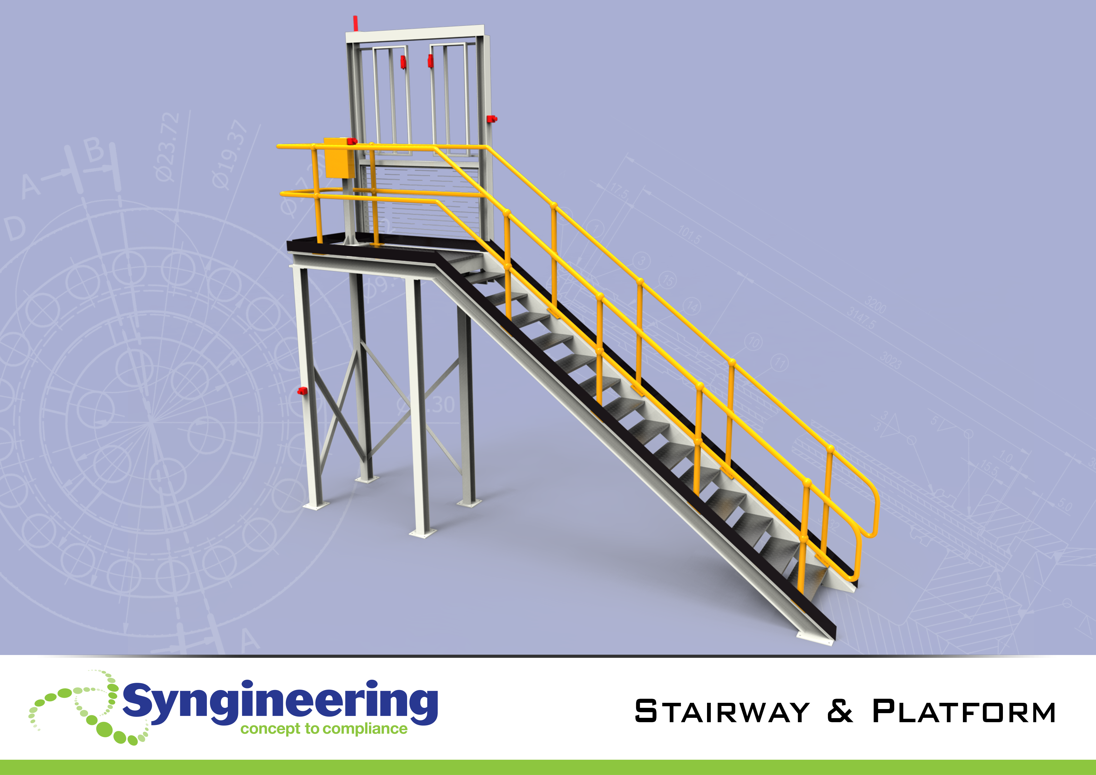 Syngineering Designs And Certifies Stairs To As1657